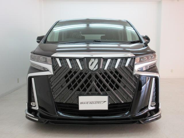2.5S Cパッケージ 新車 WALDフルコンプリート 車高調 20インチアルミ サンルーフ 3眼LEDヘッド シーケンシャルウィンカー ディスプレイオーディオ 両側電動スライド パワーバック レザーシート 電動オットマン(2枚目)