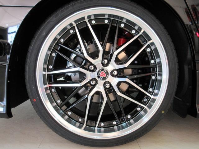 2.5S Cパッケージ 新車 WALDフルコンプリート 車高調 20インチアルミ サンルーフ 3眼LEDヘッド シーケンシャルウィンカー ディスプレイオーディオ 両側電動スライド パワーバック レザーシート 電動オットマン(13枚目)