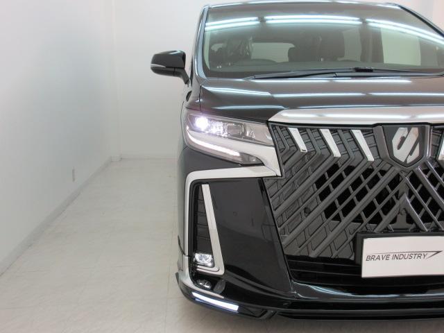2.5S Cパッケージ 新車 WALDフルコンプリート 車高調 20インチアルミ サンルーフ 3眼LEDヘッド シーケンシャルウィンカー ディスプレイオーディオ 両側電動スライド パワーバック レザーシート 電動オットマン(14枚目)