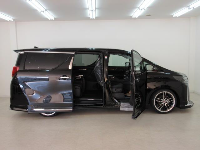 2.5S Cパッケージ 新車 WALDフルコンプリート 車高調 20インチアルミ サンルーフ 3眼LEDヘッド シーケンシャルウィンカー ディスプレイオーディオ 両側電動スライド パワーバック レザーシート 電動オットマン(28枚目)