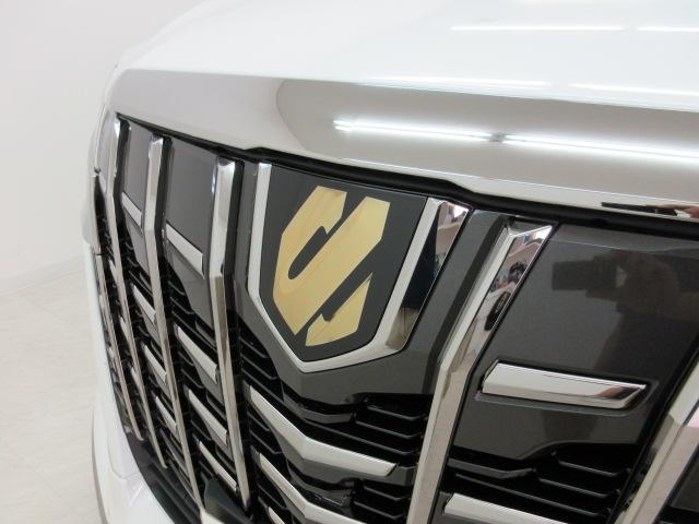 2.5S タイプゴールドII 新車 モデリスタエアロ 3眼LEDヘッドシーケンシャルウィンカー ディスプレイオーディオ 両側電動スライド パワーバック ハーフレザー オットマン レーントレーシング Bカメラ 100Vコンセント(16枚目)