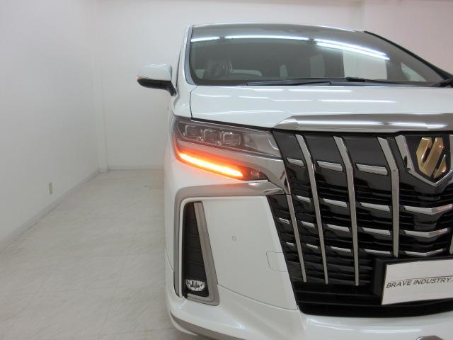 2.5S タイプゴールドII 新車 モデリスタエアロ 3眼LEDヘッドシーケンシャルウィンカー ディスプレイオーディオ 両側電動スライド パワーバック ハーフレザー オットマン レーントレーシング Bカメラ 100Vコンセント(48枚目)