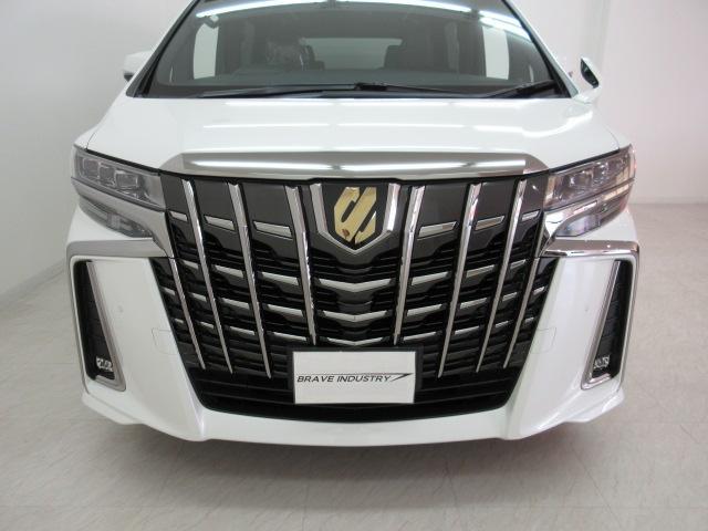 2.5S タイプゴールドII 新車 3眼LEDヘッドライトシーケンシャルウィンカー ディスプレイオーディオ 両側電動スライド パワーバックドア ハーフレザーシート オットマン レーントレーシング バックカメラ 100Vコンセント(23枚目)