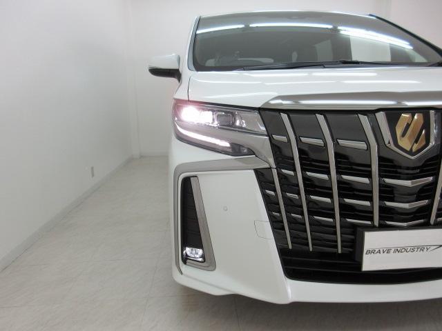 2.5S タイプゴールドII 新車 3眼LEDヘッドライトシーケンシャルウィンカー ディスプレイオーディオ 両側電動スライド パワーバックドア ハーフレザーシート オットマン レーントレーシング バックカメラ 100Vコンセント(49枚目)