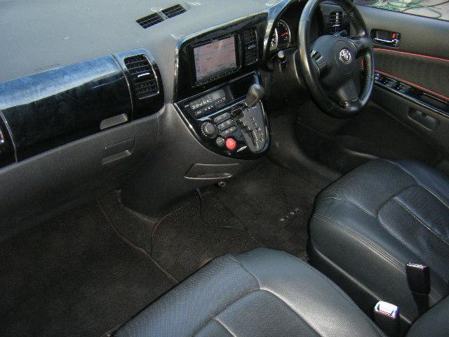 トヨタ ウィッシュ X Sパッケージ ワーク18アルミ パイオニアナビ 警報機