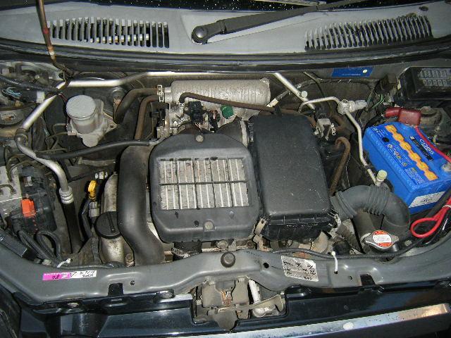 スズキ ワゴンR 150万台記念車 テイン車高調 AME15インチアルミ