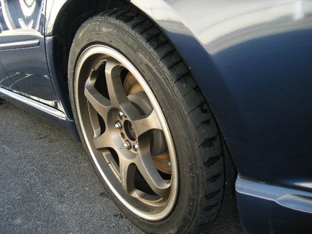 スバル レガシィツーリングワゴン 2.0GT 17アルミ Tベルト交換済 社外マフラー