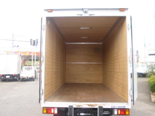 日産 アトラストラック 2tセミロングアルミバン