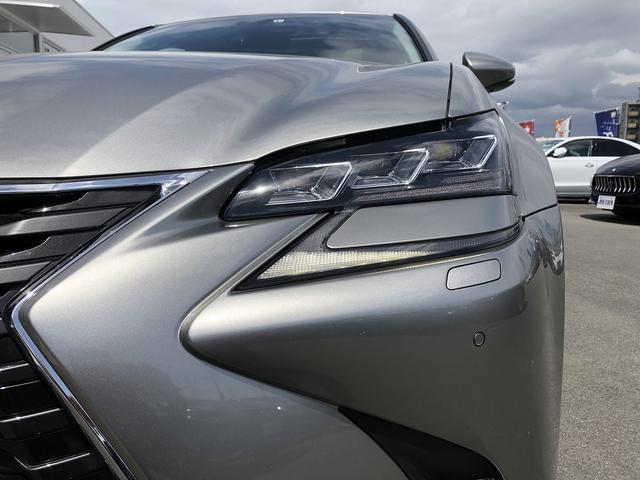GS300h バージョンL 純正ナビ 三眼LEDヘッドライト ワンオーナー メモリー機能付パワーシート 前席シートエアコン 全席シートヒーター サンルーフ アダプティブクルーズコントロール ETC2.0 障害物センサー ドラレコ(44枚目)