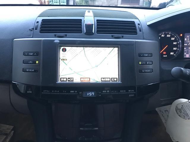 トヨタ マークX 250G 後期HDDナビ地デジTV 18インチ エアロ