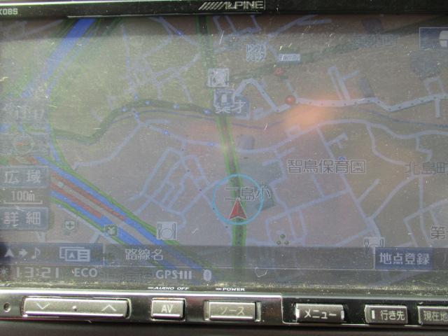 トヨタ アルファードV AX LエディションHDDナビフルセグバックカメラ両側スラ
