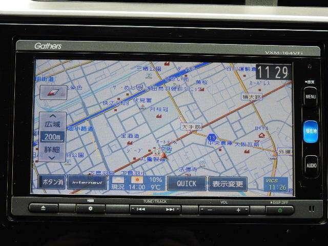 13G・Fパッケージ ワンオーナー MT車 インターナビ フルセグTV DVD再生 バックカメラ LEDヘッドライト(2枚目)