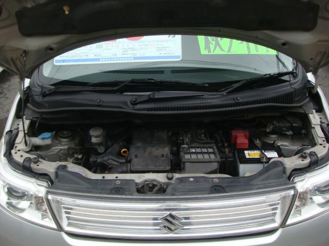 スズキ ワゴンRスティングレー TS タイミングチェーン式エンジン キーフリーシステム