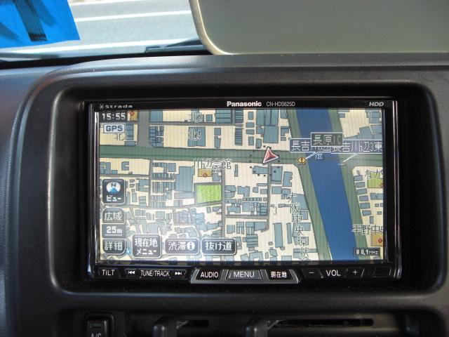 ジャンボ 社外HDDナビゲーション フルセグTV ETC(10枚目)