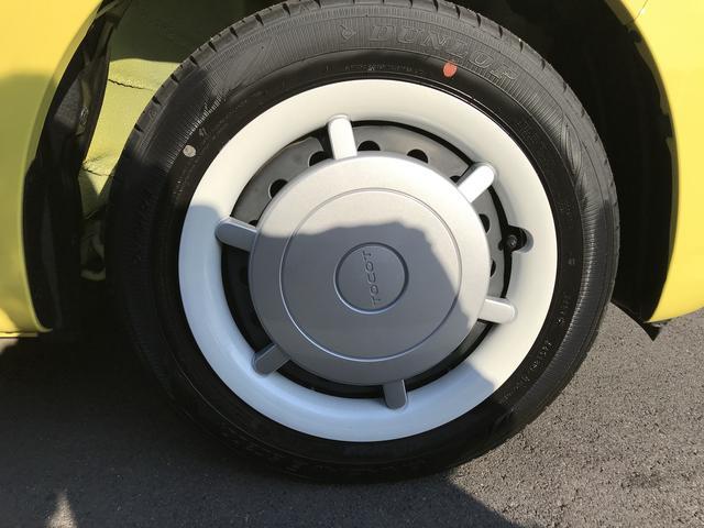 右フロントのタイヤです!おクルマのオシャレは足元からですね。