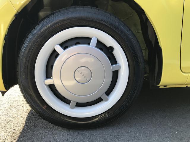 左フロントのタイヤです!おクルマのオシャレは足元からですね。