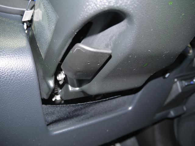 【チルトステアリング】運転する人それぞれの体格に合わせてハンドルの位置をきめ細かく調整でき、快適に運転して頂けます!