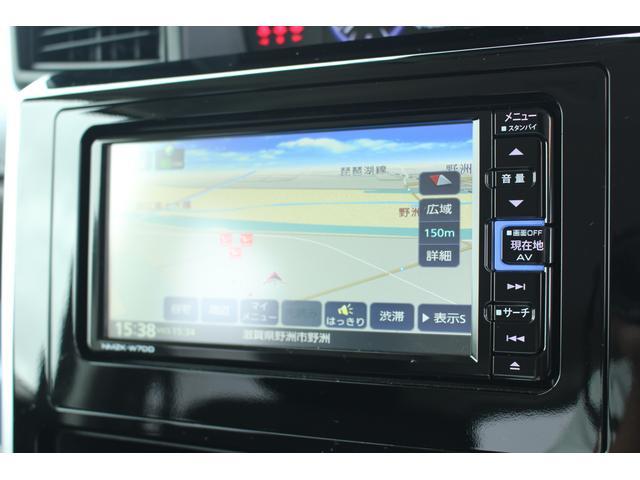 カスタムGターボSA3 純正地デジナビ バックカメラ 追突被害軽減ブレーキ スマアシ3 純正ナビ 地デジ DVD再生 Bluetooth対応 USB接続 スマートキー 両側電動スライドドア(11枚目)