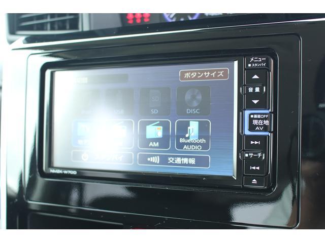 カスタムGターボSA3 純正地デジナビ バックカメラ 追突被害軽減ブレーキ スマアシ3 純正ナビ 地デジ DVD再生 Bluetooth対応 USB接続 スマートキー 両側電動スライドドア(12枚目)