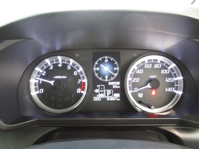 カスタム X ハイパーSA フルセグナビ Bluetooth対応 DVD再生 バックカメラ ステアリングスイッチ ETC 衝突被害軽減ブレーキ エコアイドル LEDヘッドライト オートライト キーフリー タイミングチェーン(16枚目)