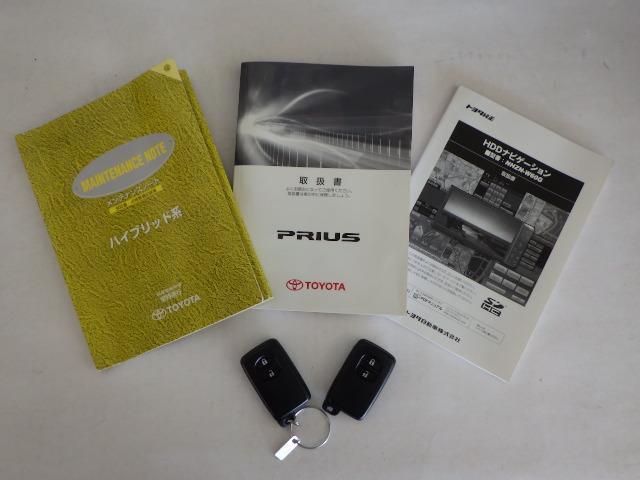 トヨタ プリウス Sツーリングセレクション HDDナビ ETC バックカメラ