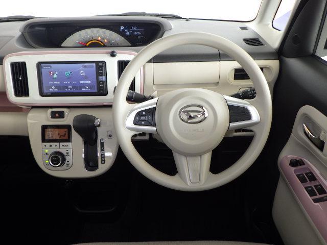 運転席からの眺めはこんな感じです(@@)機能的なだけでなく!安全面にも考慮して設計されてますよ!!\(^o^)/