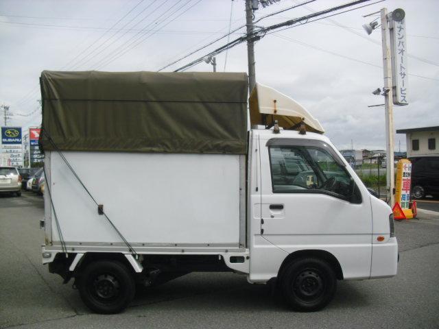 スバル サンバートラック 5MT 最終型 パネル幌 エアコン パワステ
