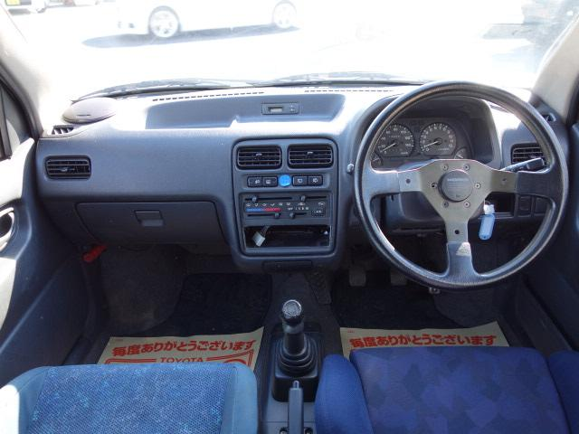 RS/Z 4WD 5速 レカロシート 社外マフラー(9枚目)