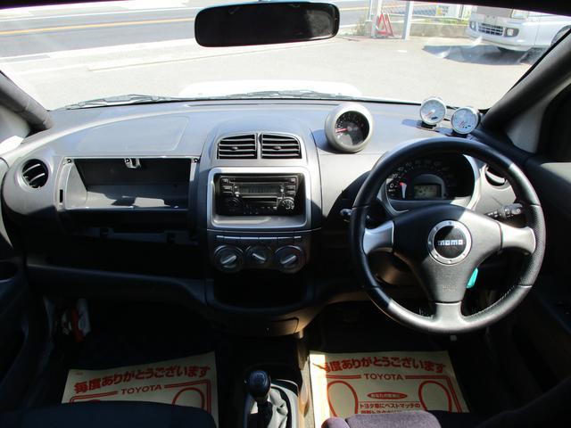 ダイハツ ブーン X4ハイグレードパック ロールゲージ 車高調 2人乗り公認
