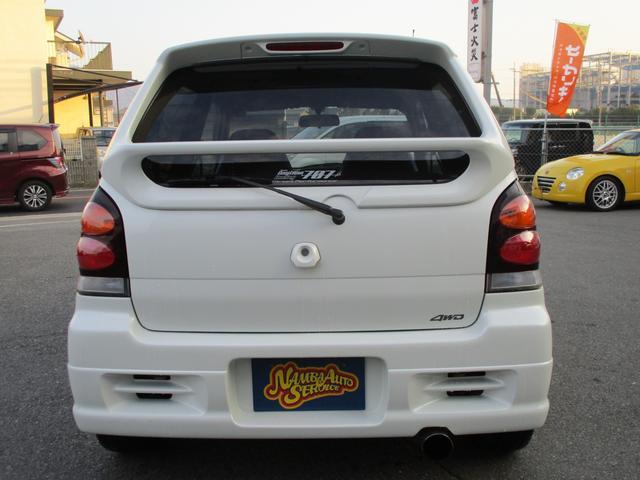 スズキ アルトワークス RS/Z 4WD ライトチューン スズスポマフラー