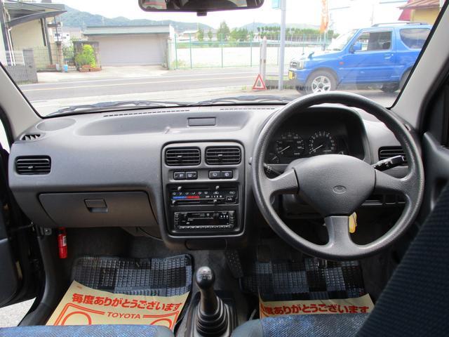 RS/Z 4WD 5MT ツインカムターボ ノーマル(9枚目)