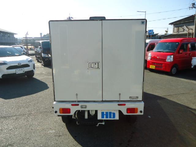 KCエアコン・パワステ 冷蔵冷凍車 エアコン パワステ パワーウィンドウ 設定温度-5度〜+20度 庫内木製スノコ(4枚目)