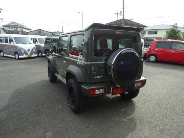 JL Gminiライト仕様 LED付きフロントバンパー 背面タイヤカバー 社外16インチアルミ スズキセーフティサポート(5枚目)