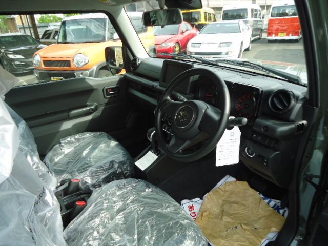 JL Gminiライト仕様 LED付きフロントバンパー 背面タイヤカバー 社外16インチアルミ スズキセーフティサポート(11枚目)