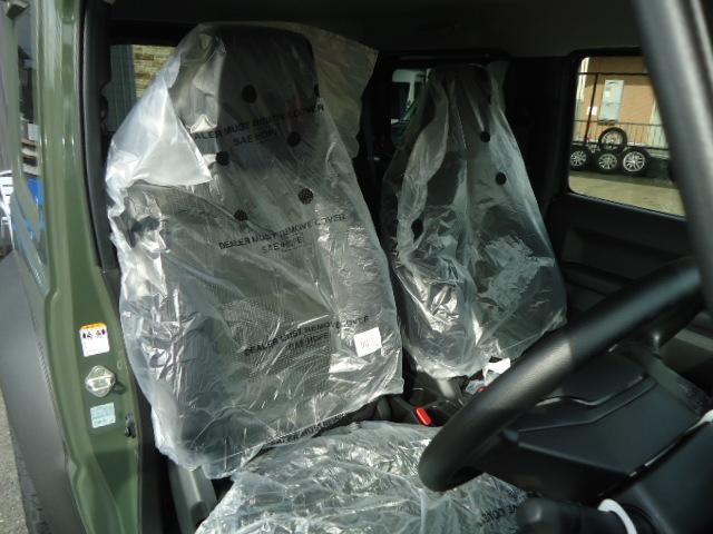 JL Gminiライト仕様 LED付きフロントバンパー 背面タイヤカバー 社外16インチアルミ スズキセーフティサポート(12枚目)