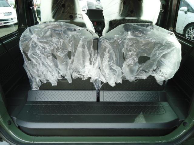 JL Gminiライト仕様 LED付きフロントバンパー 背面タイヤカバー 社外16インチアルミ スズキセーフティサポート(15枚目)