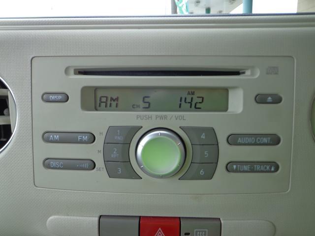 ダイハツ ミラココア ココアプラスX CD キーフリー フォグ ルーフレール