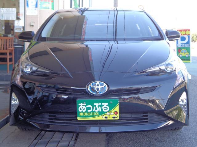 トヨタ プリウス S SDナビBTフルセグ Bカメラ 社外17アルミ 禁煙車