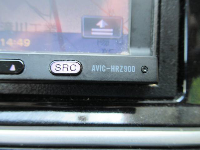 パイオニアHDDナビ(AVIC-HRZ900)を装備!!