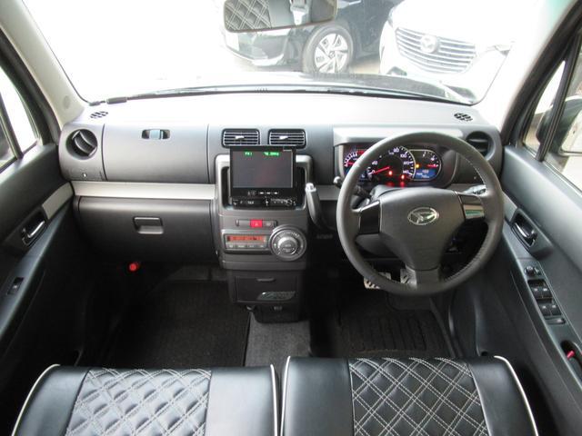 カスタム RS ターボ パイオニアHDDナビ ETC ドラレコ 革調シートカバー キーフリー 革ハンドル アイドリングストップ HIDヘッドライト フォグ 電格ウインカーミラー(15枚目)