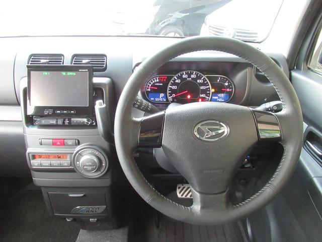 カスタム RS ターボ パイオニアHDDナビ ETC ドラレコ 革調シートカバー キーフリー 革ハンドル アイドリングストップ HIDヘッドライト フォグ 電格ウインカーミラー(16枚目)