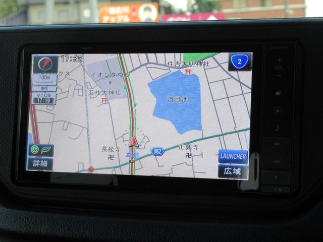 カスタム X SA 衝突軽減ブレーキ 純正SDナビ バックカメラ ステアリングリモコン CD DVD SD 録音 フルセグTV Bluetoothオーディオ LEDヘッドライト LEDフォグ オートライト スマートキー(10枚目)