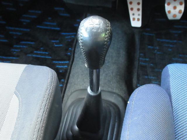 RS 5万km台 5MT スーパーチャージャー CDデッキ キーレス 革ハンドル フォグ 運転席RECAROシート 純正14インチアルミ 純正エアロ 純正リアスポイラー(11枚目)