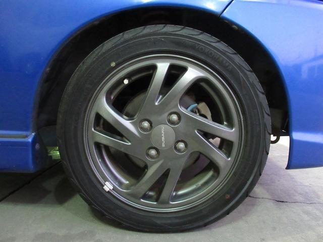 RS 5万km台 5MT スーパーチャージャー CDデッキ キーレス 革ハンドル フォグ 運転席RECAROシート 純正14インチアルミ 純正エアロ 純正リアスポイラー(32枚目)
