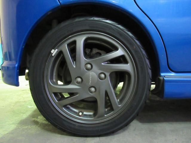 RS 5万km台 5MT スーパーチャージャー CDデッキ キーレス 革ハンドル フォグ 運転席RECAROシート 純正14インチアルミ 純正エアロ 純正リアスポイラー(33枚目)