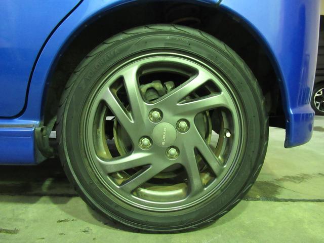 RS 5万km台 5MT スーパーチャージャー CDデッキ キーレス 革ハンドル フォグ 運転席RECAROシート 純正14インチアルミ 純正エアロ 純正リアスポイラー(35枚目)