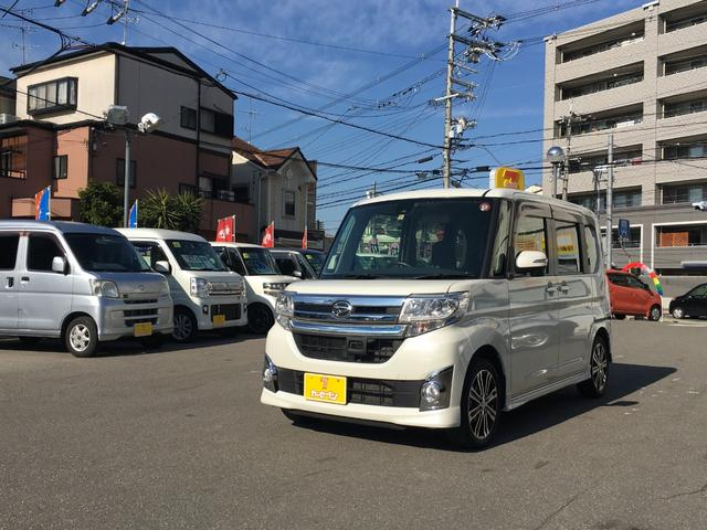 「ダイハツ」「タント」「コンパクトカー」「京都府」の中古車62