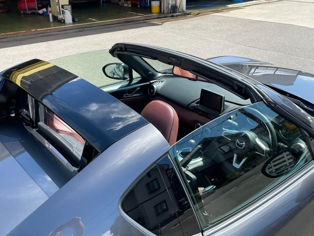 VS ユーザー買取車 ワンオーナー 禁煙車 6MT オーバーンナッパレザーシート マツダコネクト BOSEサウンド フルセグTV Bカメラ ETC セーフティパッケージ LEDヘッドランプ 純正アルミ(10枚目)