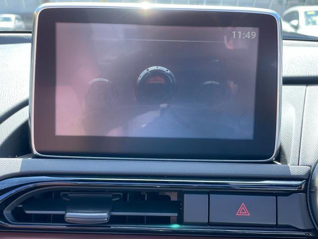 VS ユーザー買取車 ワンオーナー 禁煙車 6MT オーバーンナッパレザーシート マツダコネクト BOSEサウンド フルセグTV Bカメラ ETC セーフティパッケージ LEDヘッドランプ 純正アルミ(12枚目)