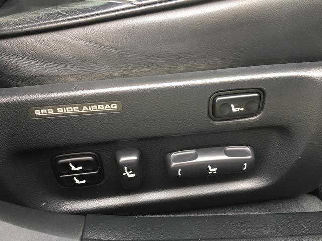 トヨタ セルシオ C仕様 BBS20AW 革シート インテリアカスタム